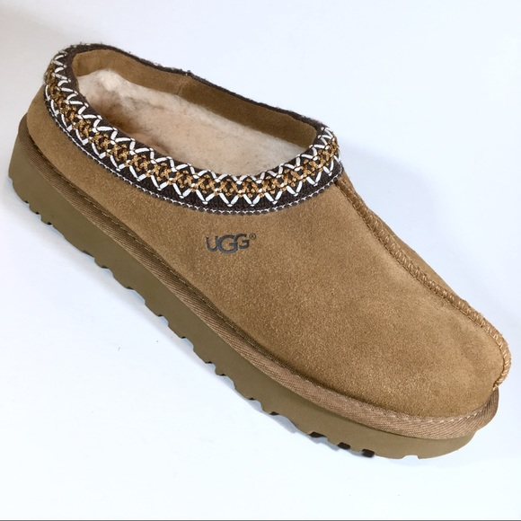 74891e204670 UGG Women s Tasman Slipper Wool in Chestnut Sz. 8.  M 5bca4f3ade6f624281c83a4f